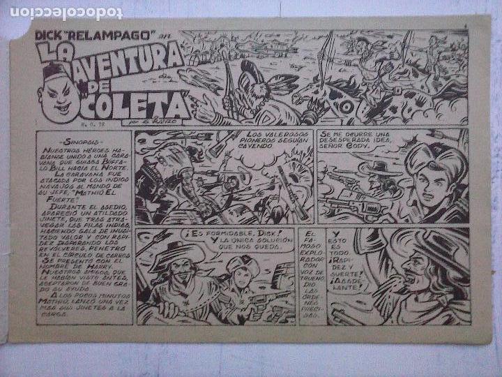Tebeos: DICK RELAMPAGO EL REY DE LA PRADERA ORIGINAL COMPLETA 1959 TORAY - G.IRANZO, VER PORTADAS Y MÁS - Foto 69 - 105125851