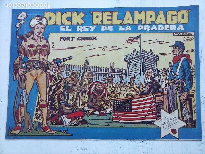 Tebeos: DICK RELAMPAGO EL REY DE LA PRADERA ORIGINAL COMPLETA 1959 TORAY - G.IRANZO, VER PORTADAS Y MÁS - Foto 70 - 105125851