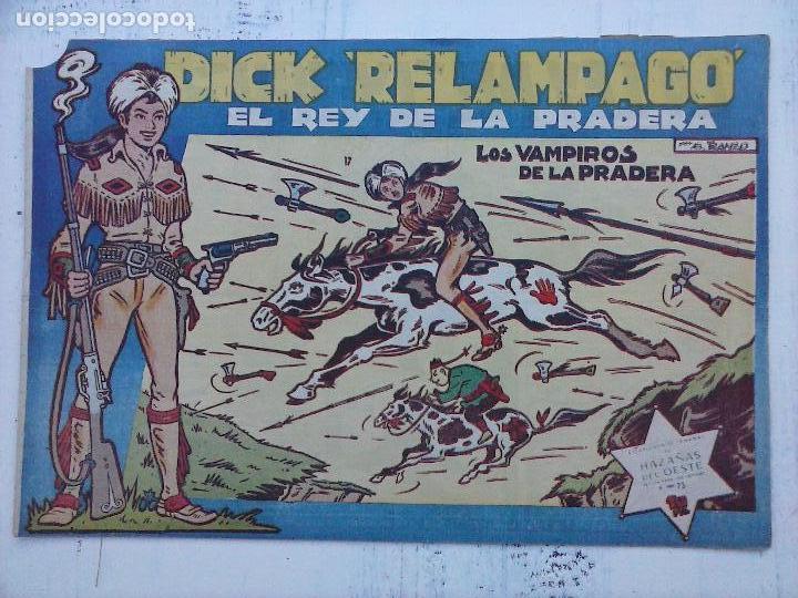 Tebeos: DICK RELAMPAGO EL REY DE LA PRADERA ORIGINAL COMPLETA 1959 TORAY - G.IRANZO, VER PORTADAS Y MÁS - Foto 72 - 105125851