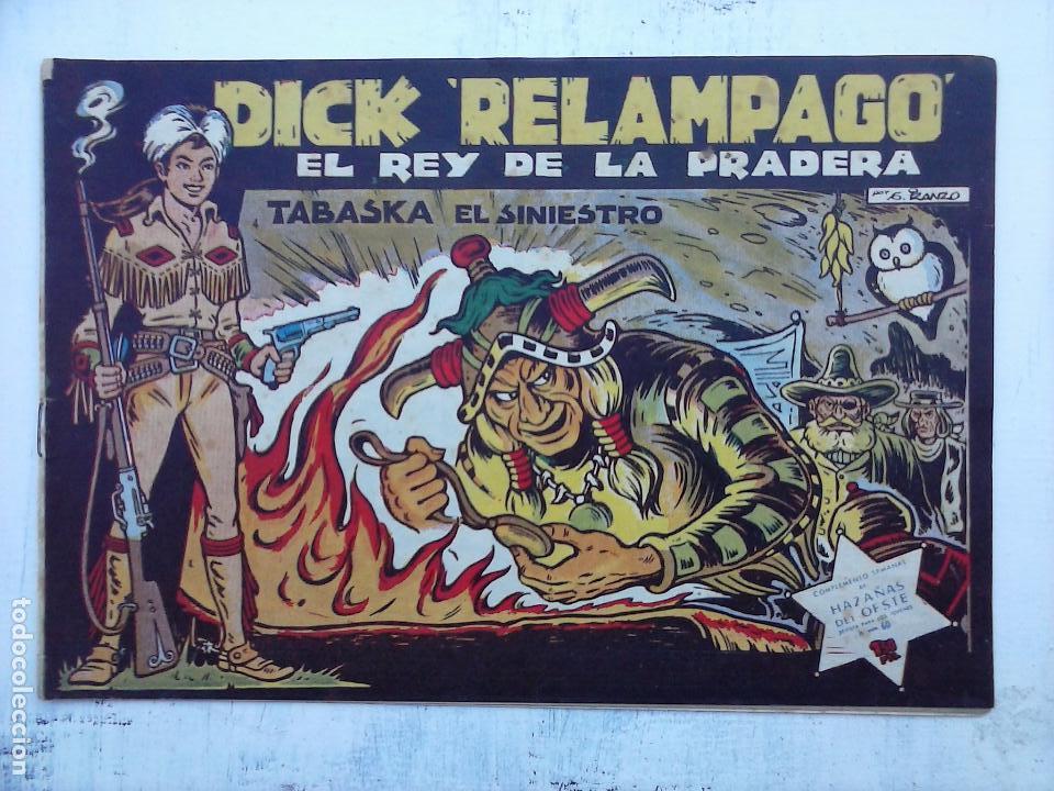 Tebeos: DICK RELAMPAGO EL REY DE LA PRADERA ORIGINAL COMPLETA 1959 TORAY - G.IRANZO, VER PORTADAS Y MÁS - Foto 79 - 105125851