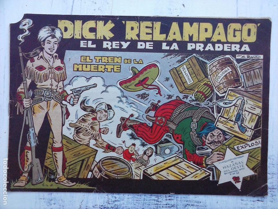 Tebeos: DICK RELAMPAGO EL REY DE LA PRADERA ORIGINAL COMPLETA 1959 TORAY - G.IRANZO, VER PORTADAS Y MÁS - Foto 80 - 105125851