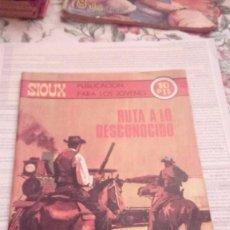 Tebeos: SIOUX Nº 153 EDICIONEN TORAY 1970,RUTA A LO DESCONOCIDO. Lote 105167959