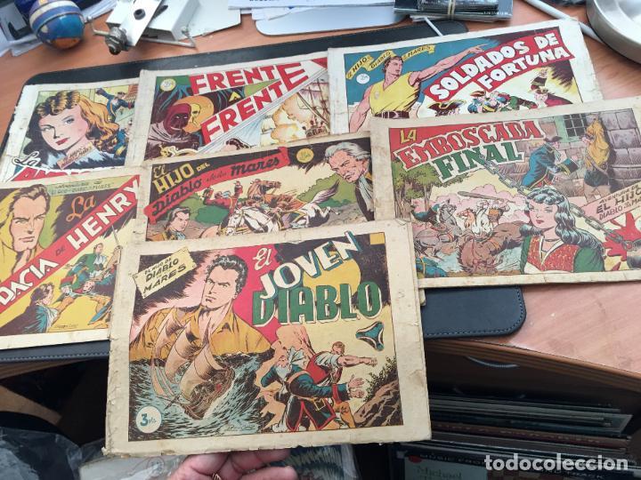 EL HIJO DEL DIABLO DE LOS MARES. LOTE COLECCION COMPLETA ALBUM I AL VII (COIB150) (Tebeos y Comics - Toray - Diablo de los Mares)