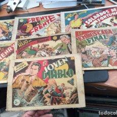 Tebeos: EL HIJO DEL DIABLO DE LOS MARES. LOTE COLECCION COMPLETA ALBUM I AL VII (COIB150). Lote 105454311