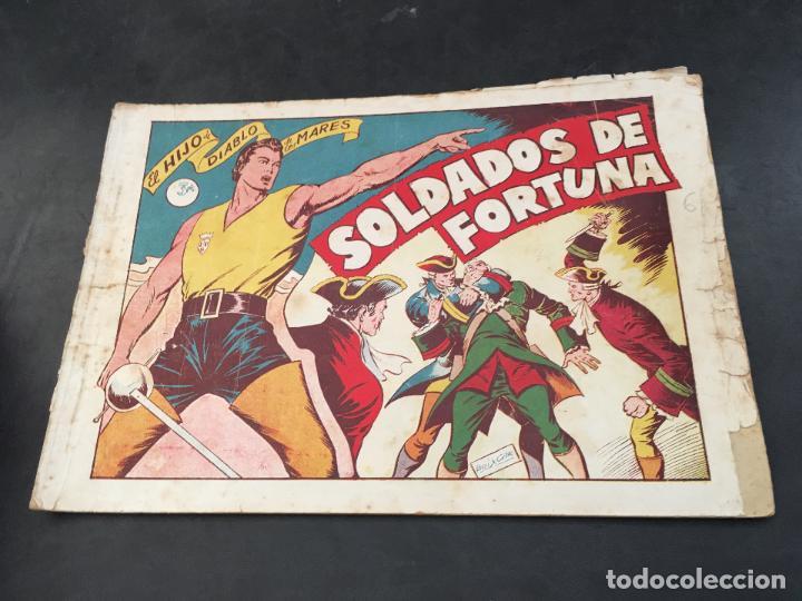 Tebeos: EL HIJO DEL DIABLO DE LOS MARES. LOTE COLECCION COMPLETA ALBUM I AL VII (COIB150) - Foto 6 - 105454311