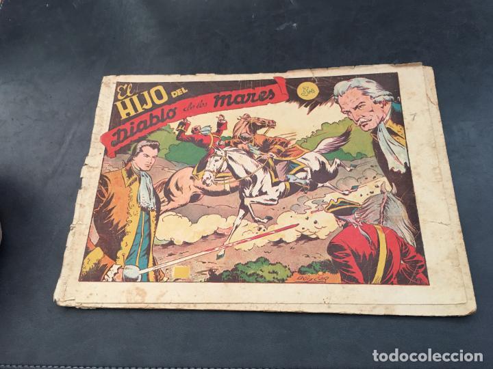 Tebeos: EL HIJO DEL DIABLO DE LOS MARES. LOTE COLECCION COMPLETA ALBUM I AL VII (COIB150) - Foto 10 - 105454311