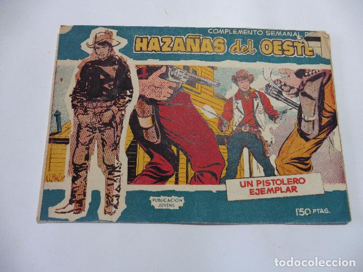 HAZAÑAS DEL OESTE Nº 9 TORAY 1959 ORIGINAL (Tebeos y Comics - Toray - Hazañas del Oeste)