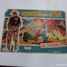 Tebeos: HAZAÑAS DEL OESTE Nº 10 TORAY 1959 ORIGINAL. Lote 105792275