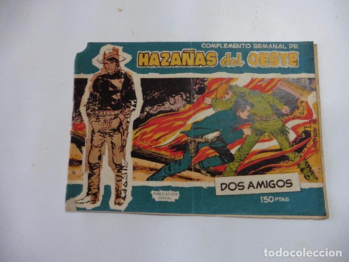 HAZAÑAS DEL OESTE Nº 14 TORAY 1959 ORIGINAL (Tebeos y Comics - Toray - Hazañas del Oeste)