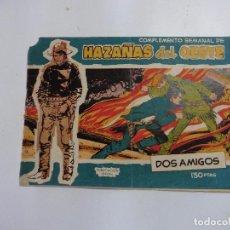 Tebeos: HAZAÑAS DEL OESTE Nº 14 TORAY 1959 ORIGINAL. Lote 105792539