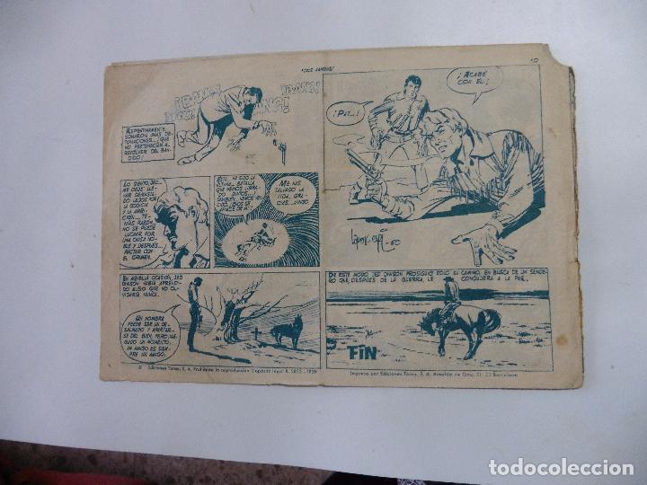 Tebeos: HAZAÑAS DEL OESTE Nº 14 TORAY 1959 ORIGINAL - Foto 2 - 105792539