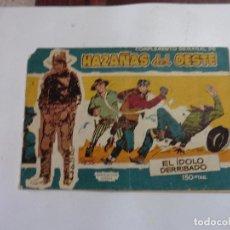 Tebeos: HAZAÑAS DEL OESTE Nº 17 TORAY 1959 ORIGINAL. Lote 105792659