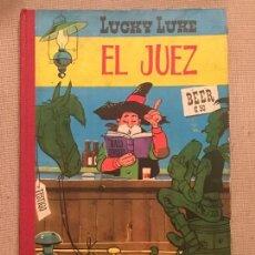 Tebeos: LUCKY LUKE EL JUEZ, EDICIONES TORAY , PRIMERA EDICIÓN ORIGINAL EN ESPAÑA DEL AÑO 1964. Lote 105858887