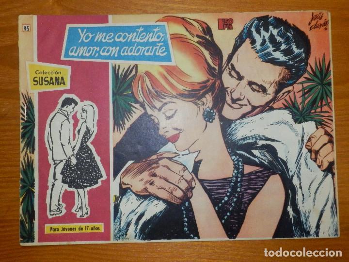 TEBEO - COMIC - COLECCION SUSANA - YO ME CONTENTO AMOR, CON ADORARTE - Nº 95 - EDICIONES TORAY - (Tebeos y Comics - Toray - Susana)