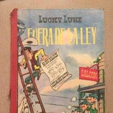 Tebeos: LUCKY LUKE FUERA DE LA LEY, EDICIONES TORAY , PRIMERA EDICIÓN ORIGINAL EN ESPAÑA DEL AÑO 1963. Lote 105860307