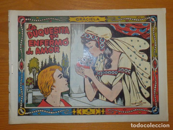 TEBEO - COMIC - COLECCIÓN GRACIELA - LA DUQUESITA QUE ENFERMÓ DE AMOR - Nº ?? - EDICIONES TORAY (Tebeos y Comics - Toray - Graciela)