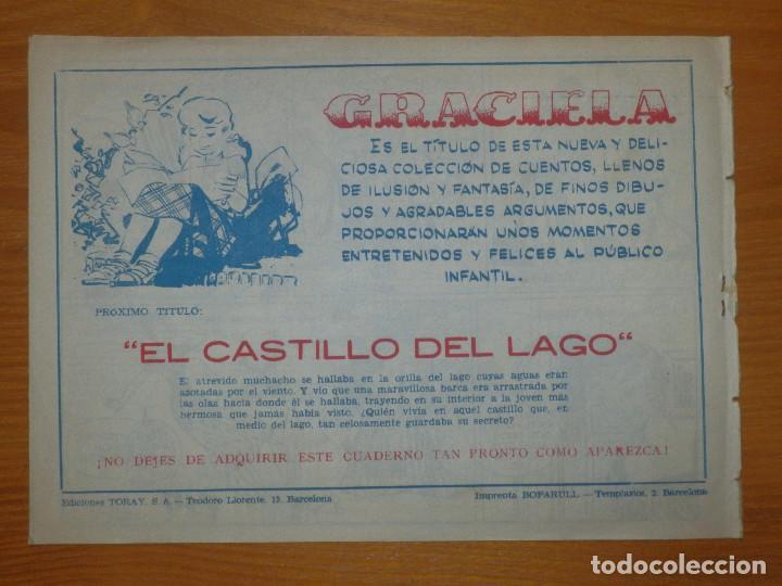 Tebeos: TEBEO - COMIC - COLECCIÓN GRACIELA - LA DUQUESITA QUE ENFERMÓ DE AMOR - Nº ?? - EDICIONES TORAY - Foto 2 - 105861195