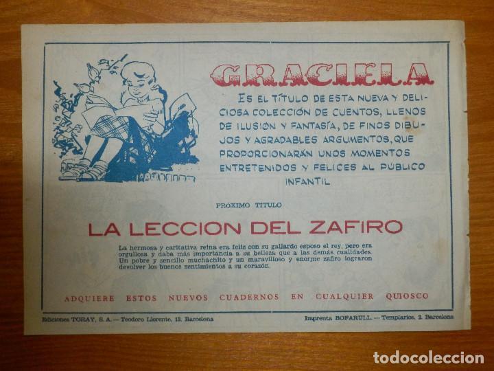 Tebeos: TEBEO - COMIC - COLECCIÓN GRACIELA - EL ORGANILLERO - Nº ?? - EDICIONES TORAY - Foto 2 - 105861563