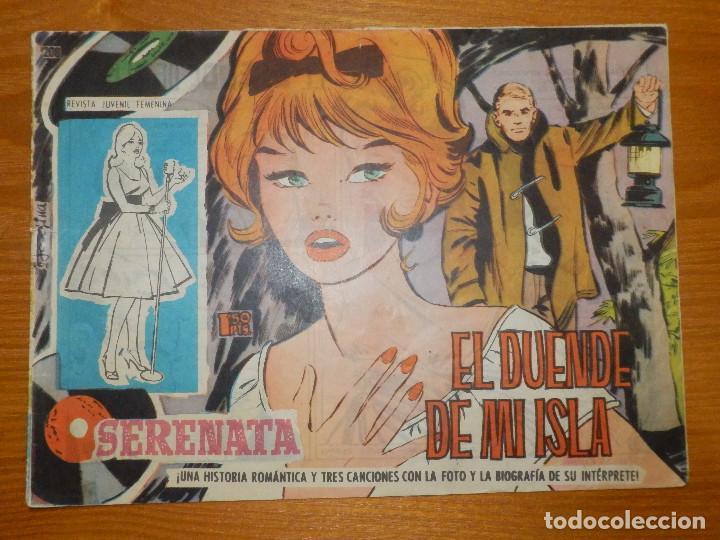 TEBEO - COMIC - COLECCIÓN SERENATA - EL DUENDE DE MI ISLA - Nº 208 - EDICIONES TORAY (Tebeos y Comics - Toray - Otros)