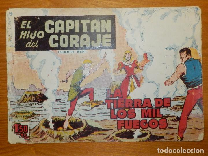 TEBEO - COMIC - EL HIJO DEL CAPITÁN CORAJE - LA TIERRA DE LOS MIL FUEGOS - Nº 20 - EDITORIAL TORAY (Tebeos y Comics - Toray - Otros)