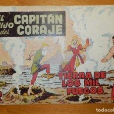 Tebeos: TEBEO - COMIC - EL HIJO DEL CAPITÁN CORAJE - LA TIERRA DE LOS MIL FUEGOS - Nº 20 - EDITORIAL TORAY. Lote 105862491