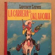 Tebeos: LUCKY LUKE ,LA CARRERA DE OKLAHOMA EDICIONES TORAY , PRIMERA EDICIÓN ORIGINAL EN ESPAÑA DEL AÑO 1964. Lote 105894935