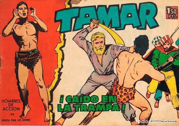 TAMAR Nº 71. TORAY AÑO 1961 (Tebeos y Comics - Toray - Tamar)