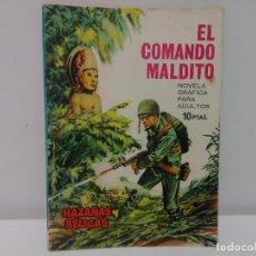 Tebeos: HAZAÑAS BÉLICAS, EL COMANDO MALDITO, Nº138, EDICIONES TORAY. Lote 106647899
