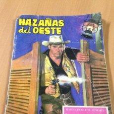 Tebeos: ANTIGUO CÒMIC HAZAÑAS DEL OESTE TARAY. Lote 107221191