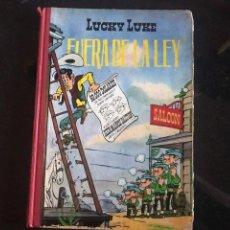 Tebeos: LUCKY LUKE FUERA DE LA LEY 1963. Lote 107298564