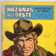 Tebeos: HAZAÑAS DEL OESTE *** NÚMERO 154 AÑO 1968. Lote 107323563
