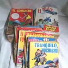 Tebeos: LOTE 72 CÓMICS EL SARGENTO GORILA HAZAÑAS BÉLICAS, LISTA PUBLICADA. Lote 110018860