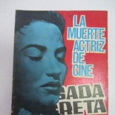 Tebeos: BRIGADA SECRETA- Nº 127-1964-LA MUERTE ACTRIZ DE CINE TORAY C84SADUR. Lote 107681967