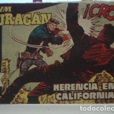 Tebeos: JIM HURACÁN - HERENCIA EN CALIFORNIA - PORTAL DEL COL·LECCIONISTA ******. Lote 107983607
