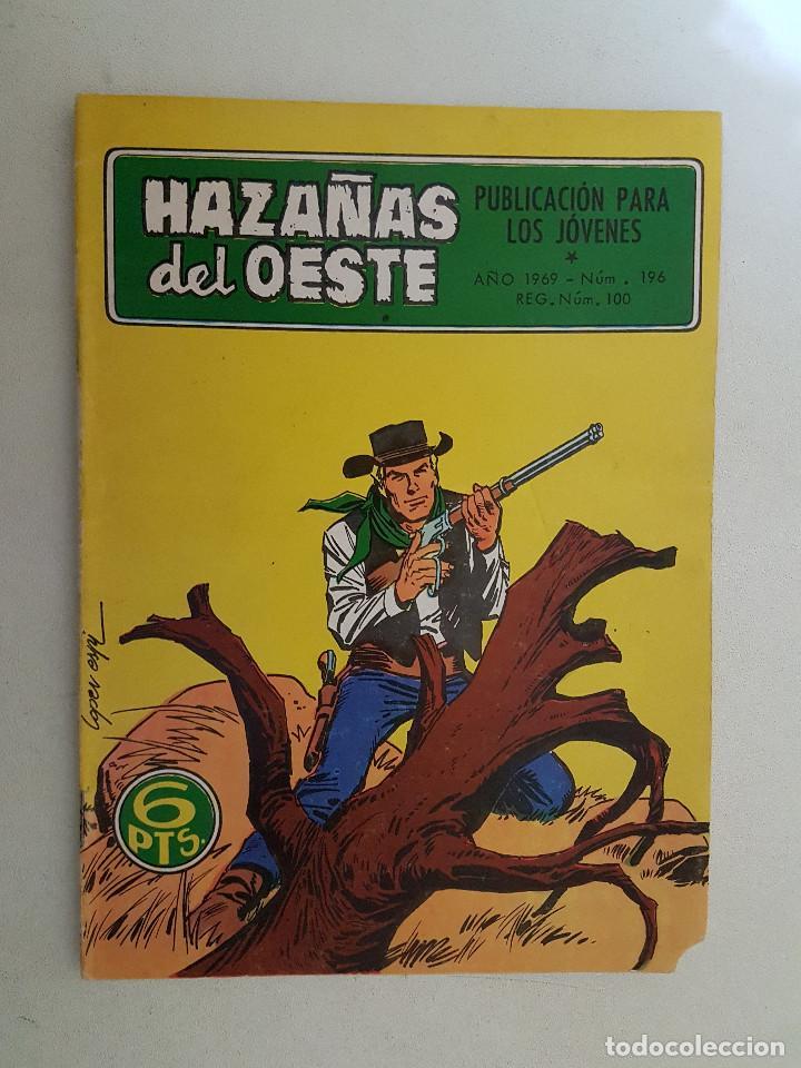 HAZAÑAS DEL OESTE. Nº 196. TORAY. (Tebeos y Comics - Toray - Hazañas del Oeste)