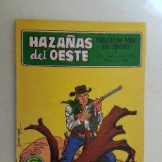 Tebeos: HAZAÑAS DEL OESTE. Nº 196. TORAY.. Lote 108016079