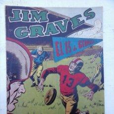 Tebeos: JIM GRAVES ORIGINAL Nº 27 SELECCCIÓN DE AVENTURAS - EDI. TORAY - JULIO VIVAS DIBUJO. Lote 108127055