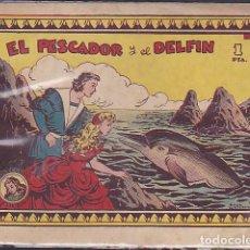 Tebeos: COMIC COLECCION AZUCENA EL PESCADOR Y EL DELFIN . Lote 108422495