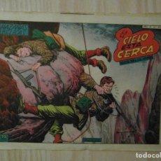 Tebeos: EL CIELO ESTA CERCA. Nº 206 DE HAZAÑAS BELICAS. TORAY. 1958. BOIXCAR. Lote 108784731