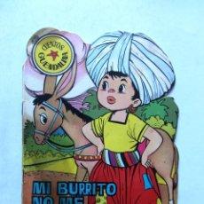 Tebeos: MI BURRITO NO ME GUSTA CUENTO TROQUELADO TORAY 1964 CUENTOS GUENDALINA. Lote 109562095