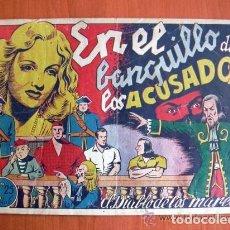 Tebeos: EL DIABLO DE LOS MARES Nº 51 EN EL BANQUILLO DE LOS ACUSADOS - EDICIONES TORAY 1947. Lote 109751131