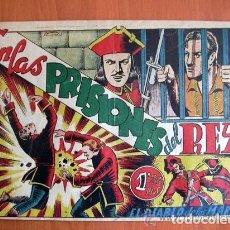 Tebeos: EL DIABLO DE LOS MARES Nº 49 EN LAS PRISIONES DEL REY - EDICIONES TORAY 1947. Lote 109751491