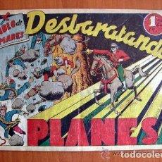 Tebeos: EL DIABLO DE LOS MARES Nº 58 DESBARATANDO PLANES - EDICIONES TORAY 1947. Lote 109754967