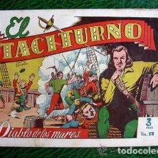 Tebeos: EL DIABLO DE LOS MARES, ÁLBUM Nº 12 TACITURNO - EDICIONES TORAY 1949. Lote 109777027