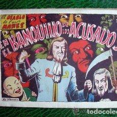 Tebeos: EL DIABLO DE LOS MARES, ÁLBUM Nº 15 EL BANQUILLO DE LOS ACUSADOS - EDICIONES TORAY 1949. Lote 109777563