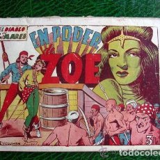Tebeos: EL DIABLO DE LOS MARES, ÁLBUM Nº 3 EN PODER DE ZOE - EDICIONES TORAY 1949. Lote 109777919