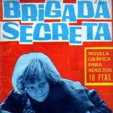 Tebeos: BRIGADA SECRETA Nº 166 -DIEZ FRANCOS, MUERTE INCLUÍDA-1966-GRAN MANUEL DOMÍNGUEZ-REGULAR-LEAN-7690. Lote 109835478