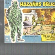 Tebeos: HAZAÑAS BÉLICAS Nº 88ITADO EN 1958. Lote 110163251