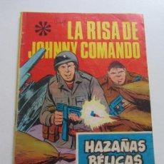 Tebeos: HAZAÑAS BÉLICAS. Nº 223 LA RISA DE JOHNNY COMANDO. GORILA SOTILLOS, E EDITORIAL TORAY- C87SADUR. Lote 110238635