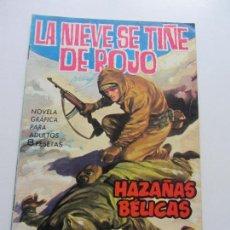 Tebeos: HAZAÑAS BELICAS 1964 8 PTAS Nº 100 LA NIEVE SE TIÑE DE ROJO EDITORIAL TORAY- C87SADUR. Lote 110239231